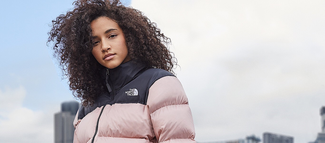 The North Face Jacke in pink