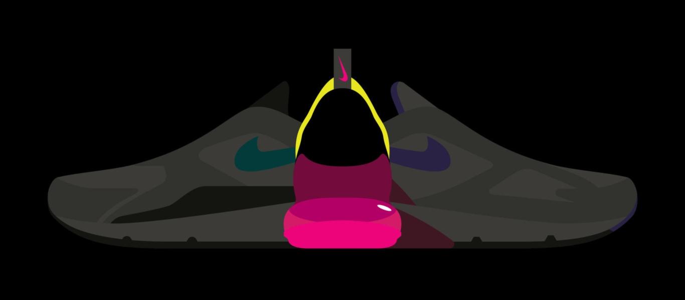 Nike Air Max 270 mit pinker Air Max einheit