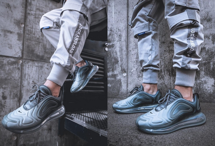 Der Air Max 720 in Grau