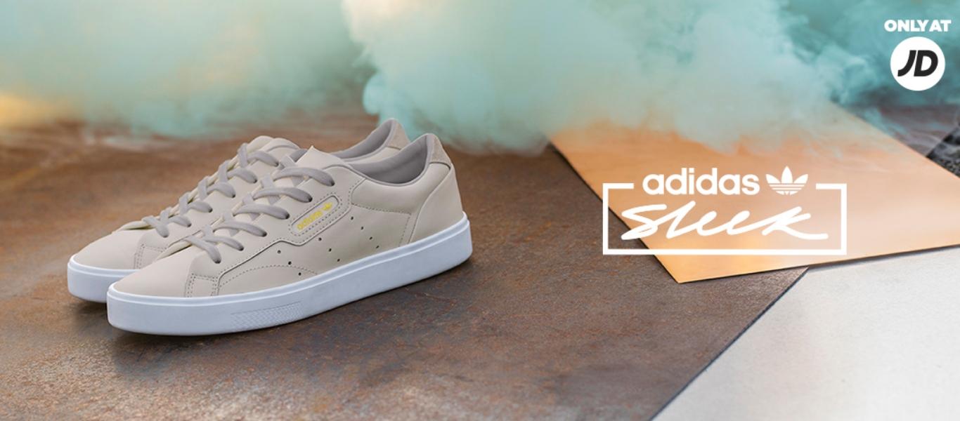 Sleek Sneaker von adidas Originals in der Farbe Grau
