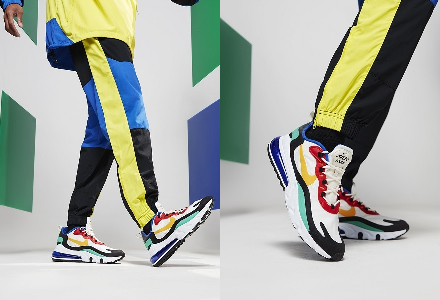Der Nike Air Max 270 React in Bunt