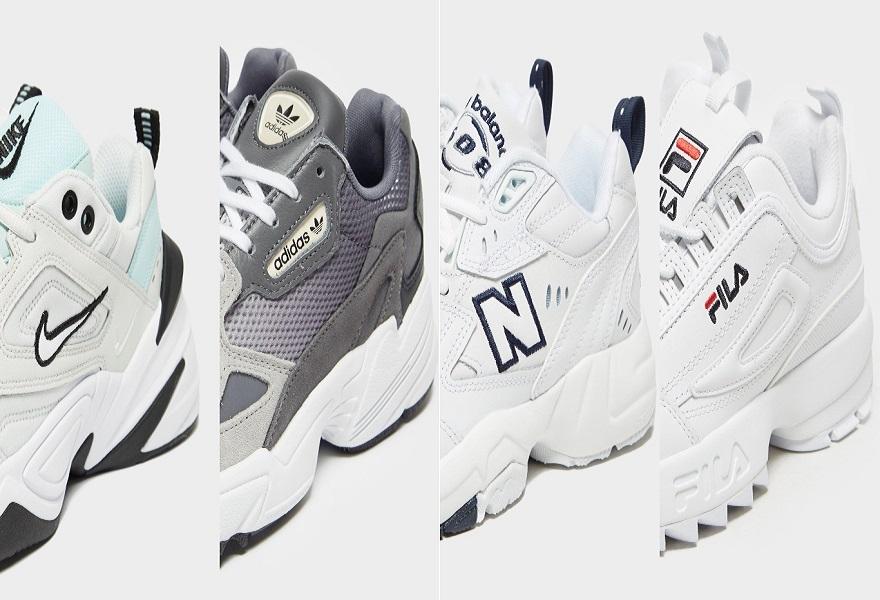 chunky Sneaker von Nike, adidas, New Balance und Fila
