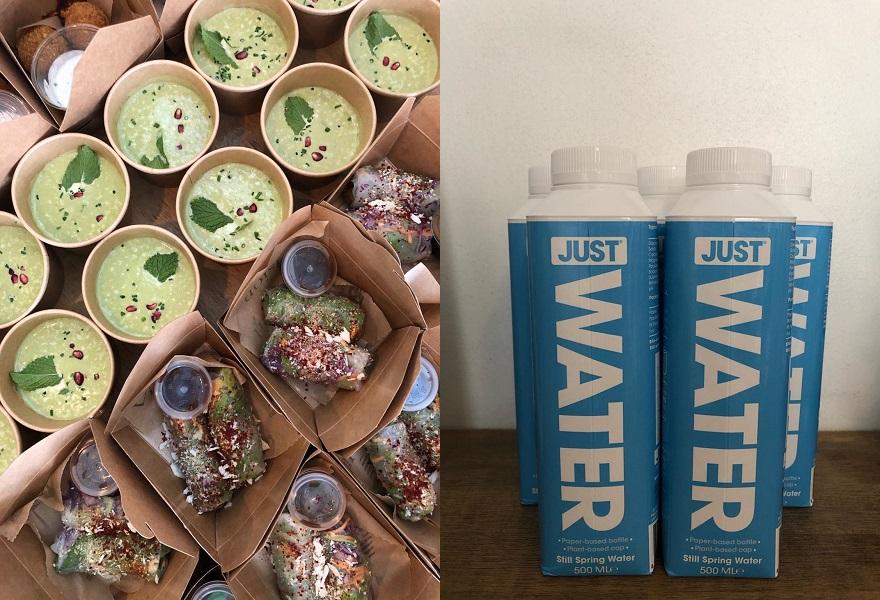 Wasser und Essen