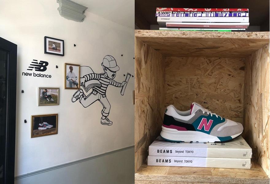 Paperboy Cafe und neuer New Balance Sneaker