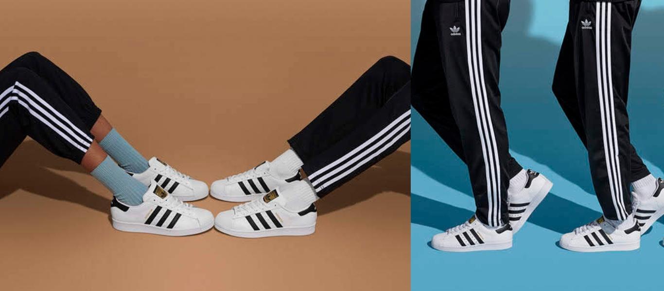 Der adidas Superstar Sneaker im Partnerlook