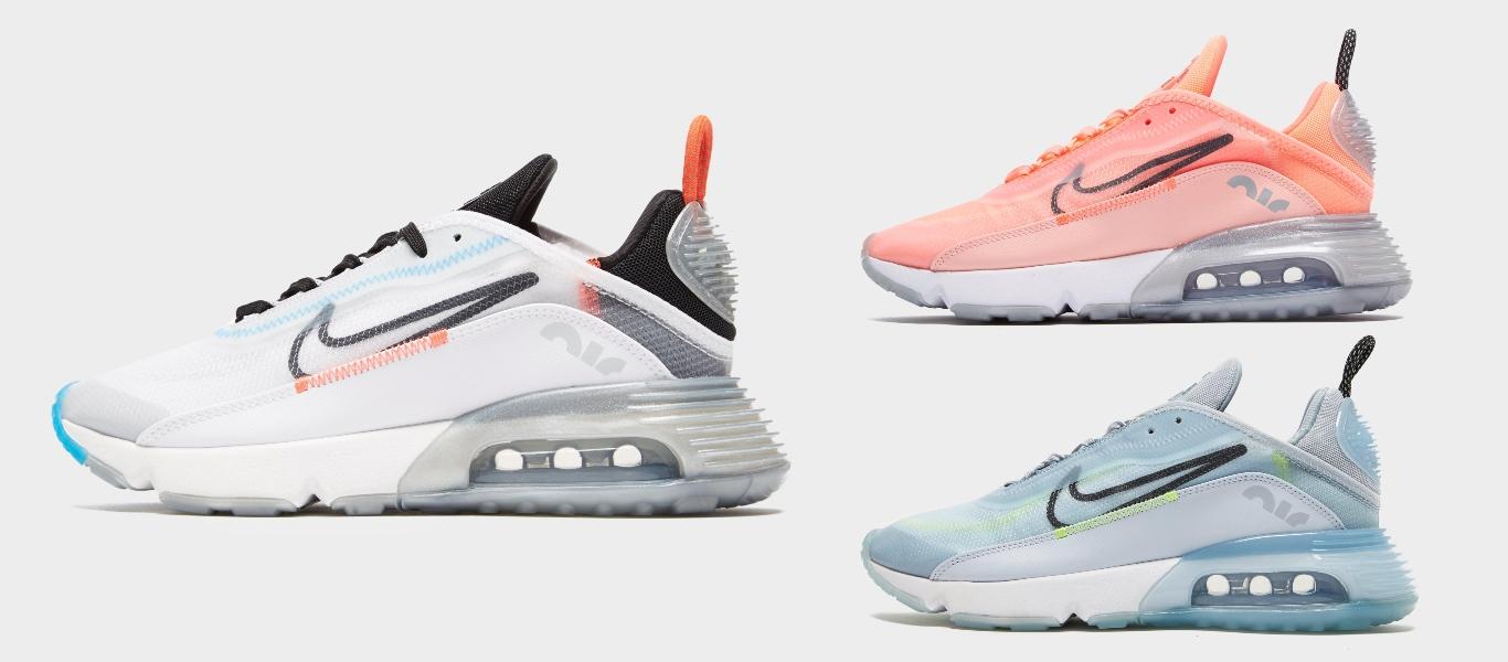 Der Nike Air Max 2090 in drei Colourways