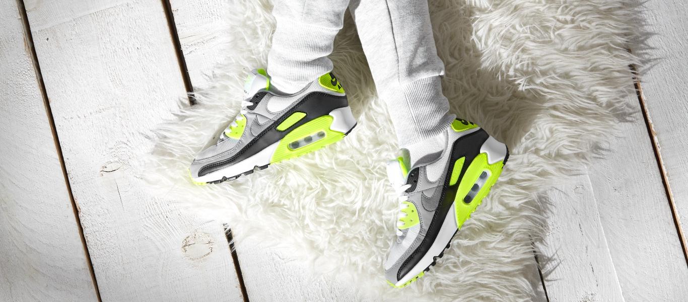 Entdecke dir Nike Air Max 90 in Gelb