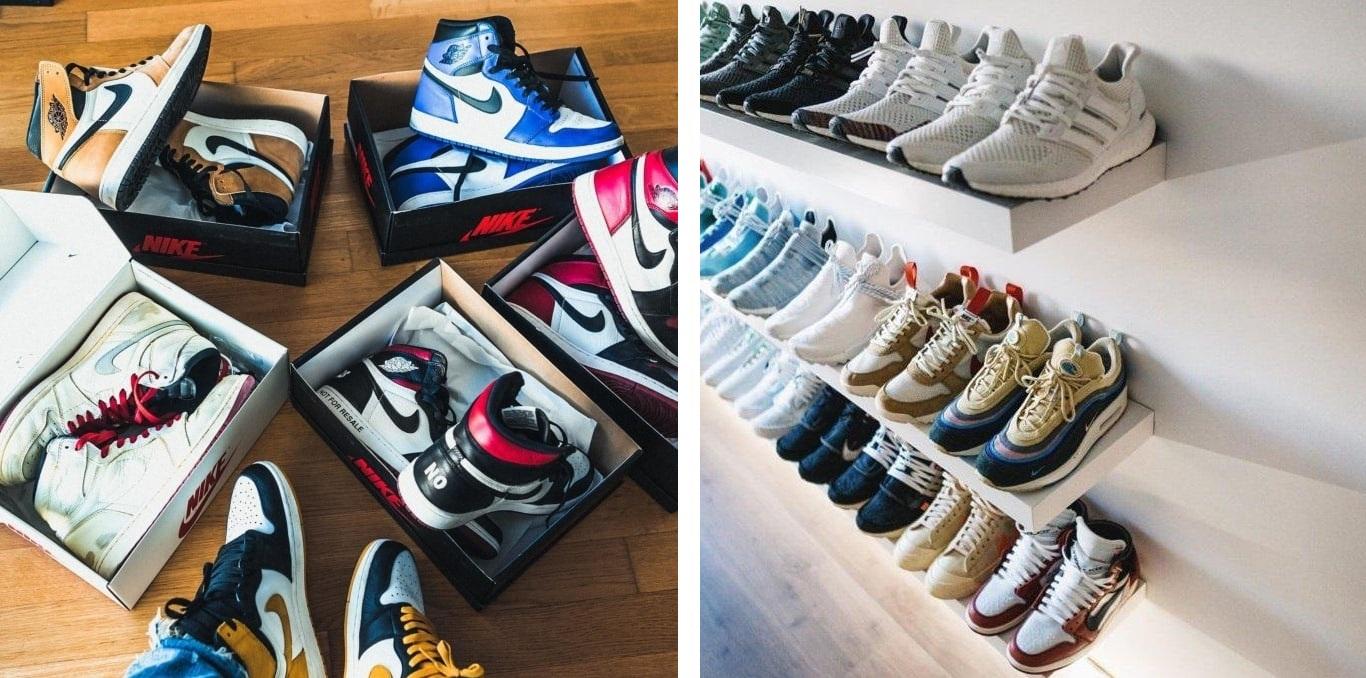ordne deine Sneaker