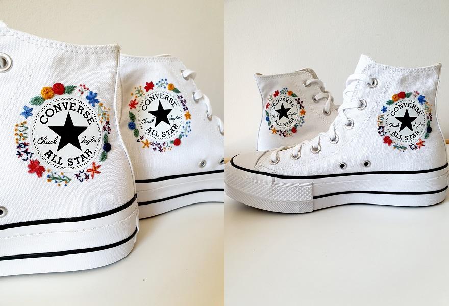 Bestickte Converse Sneaker